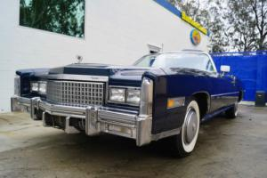1975 Cadillac Eldorado CONVERTIBLE IN 'COMMODORE BLUE METALLIC' Photo