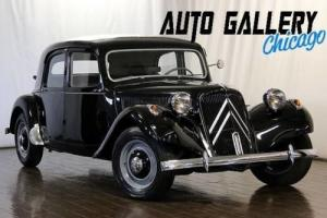 1955 Citroën Traction Avant -- Photo