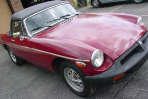 1976 MG MGB MGB CONVERTIBLE