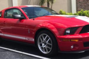 2007 Ford Mustang 2dr Coupe Shelby GT500