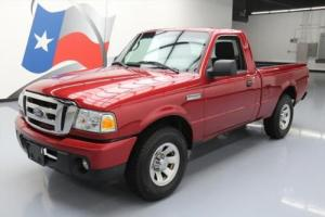 2010 Ford Ranger RANGE XLT REGULAR CAB 5SPD CD AUDIO