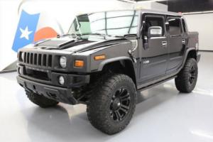 2008 Hummer H2 SUT LUXURY 4X4 LEATHER SUNROOF NAV DVD