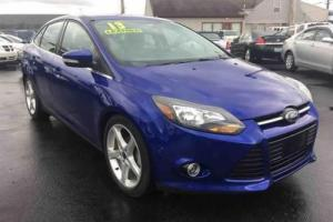 2013 Ford Focus Titanium 4dr Sedan