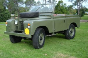 Series 2 Ex Army Land Rover