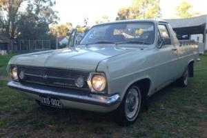 1967 HR Holden Utility Photo