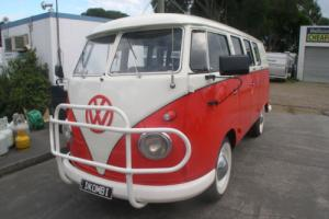 Split Screen VW Kombi 1962 Photo