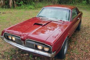 1967 Mercury Cougar GOOD RESERVE Not Mustang Fastback. WORLDWIDE ship for Sale