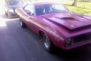 1972 Plymouth Barracuda BARRACUDA
