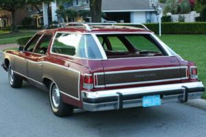 1975 Pontiac Catalina SAFARI THREE SEAT CLAMSHELL WAGON - 36K MI