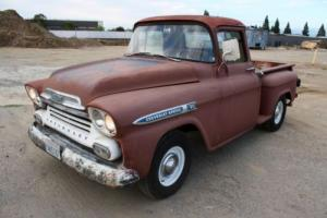 1959 Chevrolet Other Pickups Apache, Half Ton, Short Bed