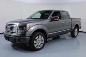 2014 Ford F-150 PLATINUM CREW 4X4 5.0 SUNROOF NAV
