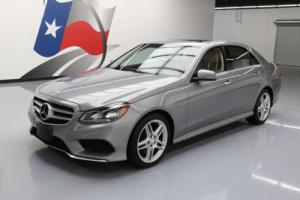 2014 Mercedes-Benz E-Class E350 SPORT AWD P1 SUNROOF NAV Photo
