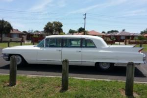 1962 Cadillac Fleetwood 75 Series Presidential Limousine (9 Seater)