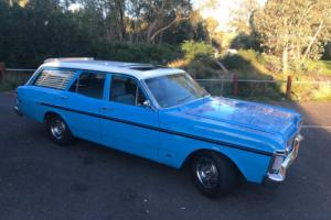 Ford Falcon 500 XY True Blue Wagon 302 Windsor C4 Auto suit XR XT XW XA XB GS GT Photo