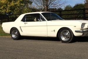 Ford Mustang 1964 1/2 1965  D Code matching numbers