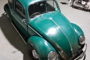 VW beetle Aug 57 build