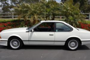 1989 BMW 6-Series Photo