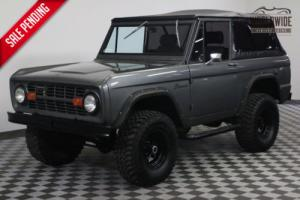 1976 Ford Bronco RESTORED VINTAGE AC PS PB 4X4 2K MILES