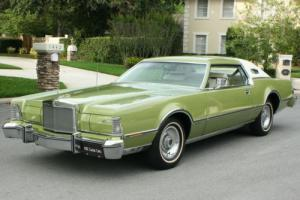 1975 Lincoln Mark Series IV LUXURY GROUP - RARE COLOR - 44K MI