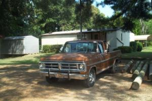 1972 Ford F-100 FRED JONES SERIES for Sale