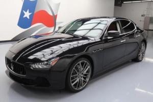 2015 Maserati Ghibli S Q4 AWD SUNROOF NAV 21'S for Sale
