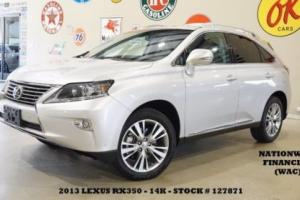 2013 Lexus RX SUNROOF,BACK-UP CAM,HTD/COOL LTH,19IN WHLS,14K!
