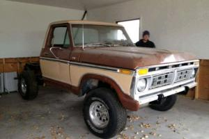 1976 Ford F-100 Ranger Cab & Chassis 2-Door   eBay