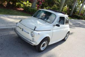 1969 Fiat 500 Collector's SEE VIDEO!!!! Photo