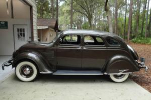 1934 Chrysler CY Airflow Sedan