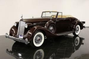1936 Packard Twelve Coupe Roadster Photo
