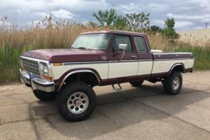 1978 Ford F-250 Supercab