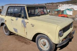 1966 International Harvester Scout