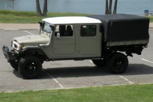 1978 Toyota Land Cruiser FJ45 4 DOOR EXTENDED CHASSIS
