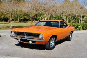 1970 Plymouth Barracuda Cuda` 340 4-Barrel 4-Speed 76,556 Original Miles!