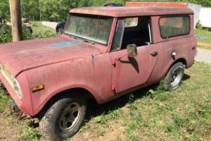 1971 International Harvester Scout