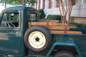 1950 Willys pickup Photo