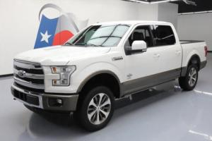 2015 Ford F-150 KING RANCH CREW 4X4 ECOBOOST NAV