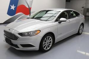 2017 Ford Fusion SE HYBRID REAR CAM ALLOY WHEELS