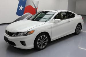 2013 Honda Accord EX-L V6 COUPE HTD LEATHER SUNROOF