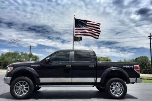 2010 Ford F-150 LARIAT CREWCAB 4X4 V8 LEATHER LIFTED