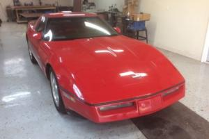 1986 Chevrolet Corvette Targa Top