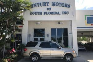 2007 Toyota Sequoia SR5 1 OWNER FLORIDA WARRANTY