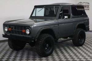 1976 Ford Bronco RESTORED VINTAGE AC PS PB 4X4 2K MILES Photo