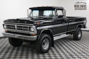 1972 Ford F-250 FRAME OFF RESTORED 4X4 REBUILT V8 GORGEOUS