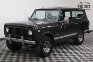 1979 International Harvester Scout 345V8 AUTOMATIC 4X4 CONVERTIBLE HARD TOP Photo