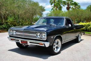 1965 Chevrolet El Camino Custom 4-Speed Tri-Power Must See! Buckets PS PB