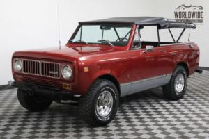 1973 International Harvester Scout RESTORED V8 RARE SCOUT CONVERTIBLE