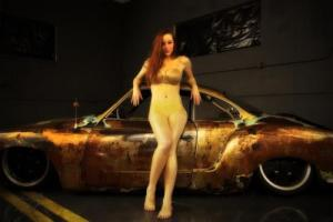 1968 Volkswagen Volkswagen Karmann Ghia Rat Rod Ghia Photo
