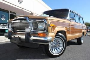1983 Jeep Wagoneer Limited 4X4
