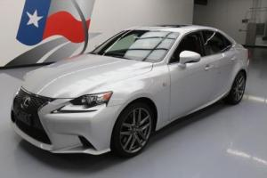 2015 Lexus IS AWD F-SPORT SUNROOF NAV REAR CAM